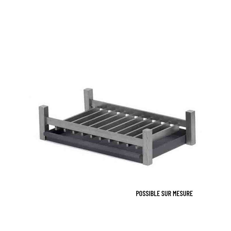 GRILLE FOYERE MODERNE RECTANGLE GM L61 P34