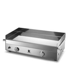 PLANCHA GAZ KRAMPOUZ INOX - K - 65x39