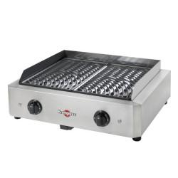 GRILL ELECTRIQUE KRAMPOUZ MYTHIC 500X400 - 2 X 1700W