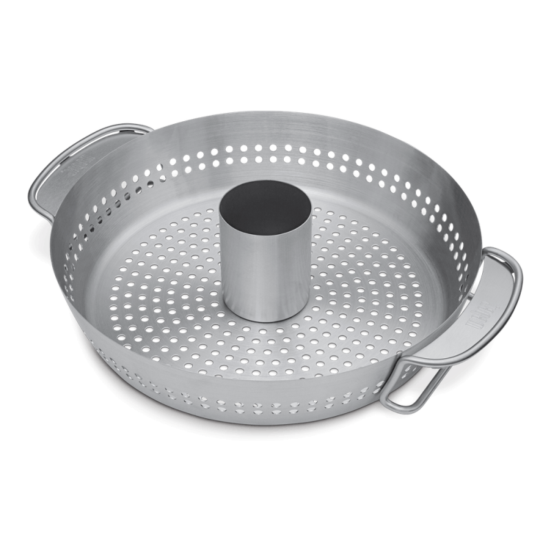 Greyoe Support pour Cuisses de Poulet Support de Poulet Barbecue en Acier Inoxydable avec Plateau Brosse Pliable Support de Cuisson pour Barbecue pour 14 Cuisses ou Ailes volaille