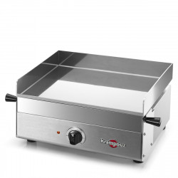 PLANCHA ELECTRIQUE KRAMPOUZ INOX - DESIGN - SIMPLE 41x40