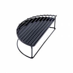 GRILLE SURELEVEE DEMI LUNE MX/S BIG GREEN EGG