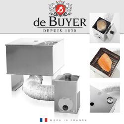 FUMOIR INOX 31x31CM DE BUYER